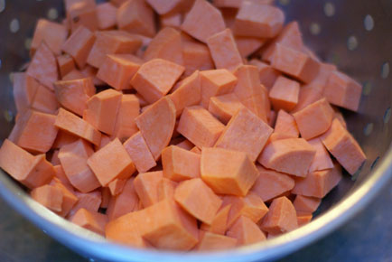 roasted sweet potato salad 2 Roasted Sweet Potato Salad