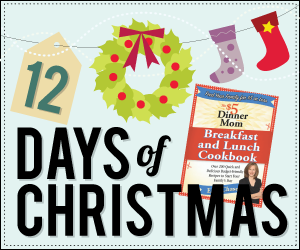 12daysofxmas CLOSED! On the Second Day of Christmas...Cookbook Giveaway