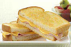 Grilled Ham n Cheese Sandwiches 300x199 7 Recipes to Use Up Your Leftover Ham   From the Archives