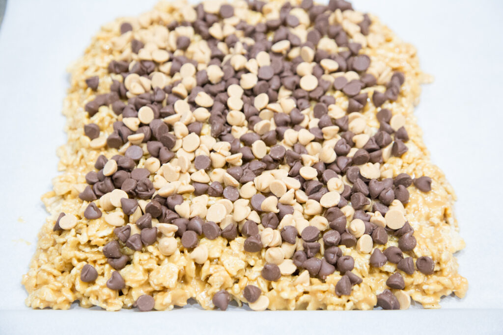 Peanut Butter Chocolate Special K Bars