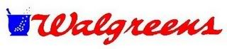 Walgreens logo Drugstore Food Deals   Week of April 8