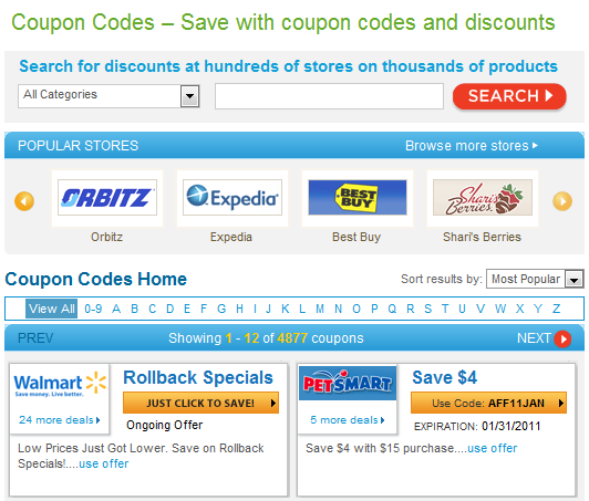 coupons.com new coupon codes New Features on My Coupons.com Page
