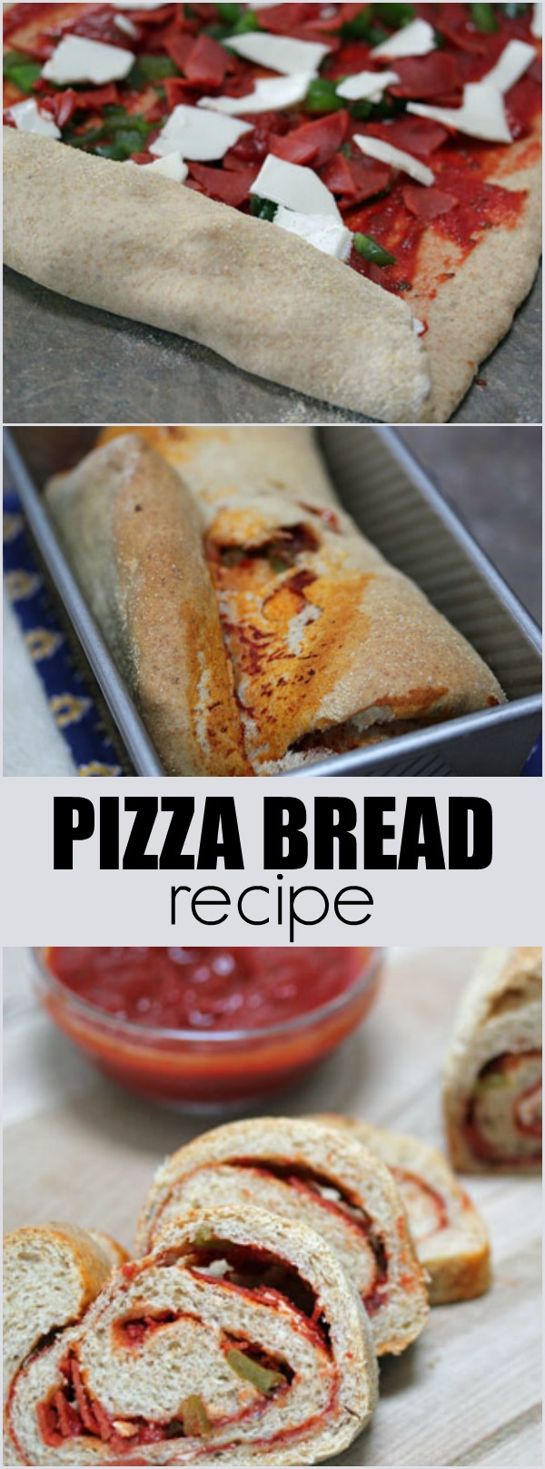 rolled pizza bread