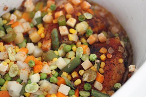 Slow Cooker Creole Chicken – $5 Dinner Challenge