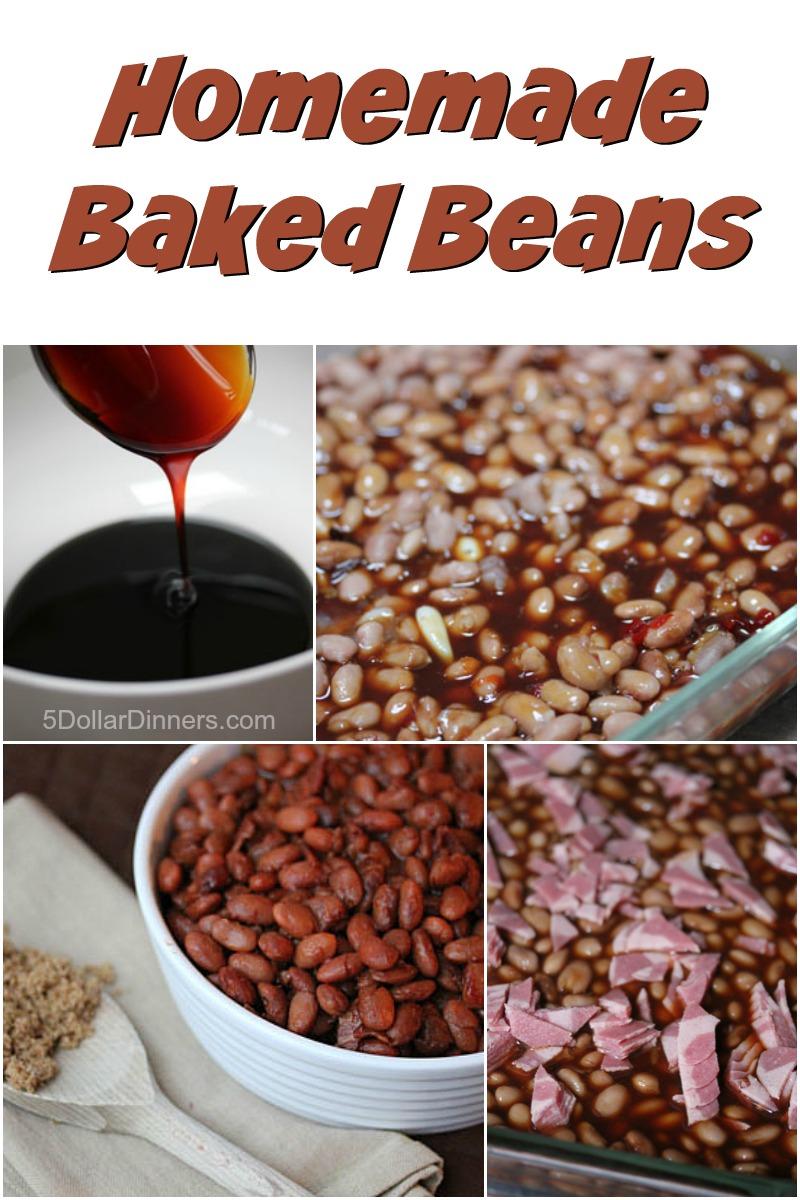Homemade Baked Beans from 5DollarDinners.com