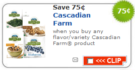 cascadian farm coupon New Organic Coupons   $.75/1 Muir Glen and $.75/1 Cascadian Farm
