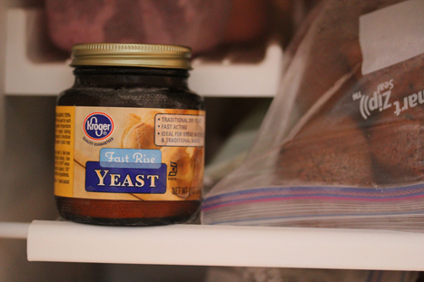 yeast in the freezer Storing Yeast in Your Freezer   Kitchen Trick