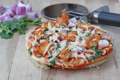 Mini Barbeque Chicken Pizzas – CPK Style