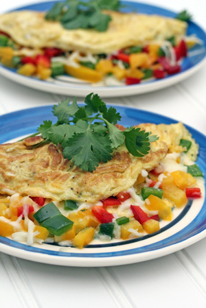 spicy mexican omelet Spicy Mexican Omelet