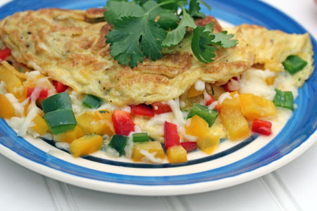 spicy mexican omelets 1