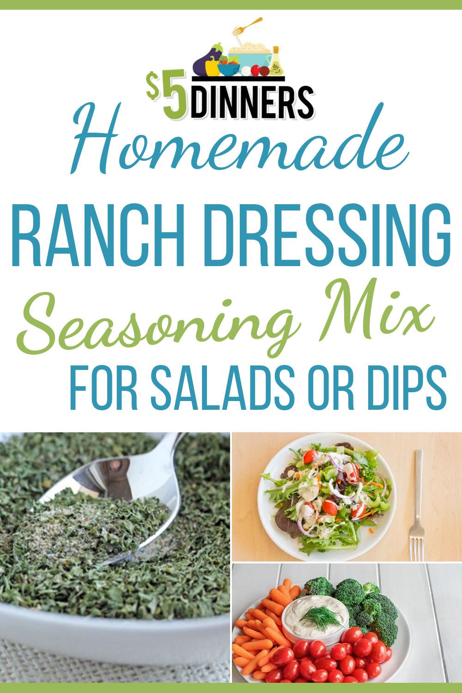 easy homemade ranch dressing