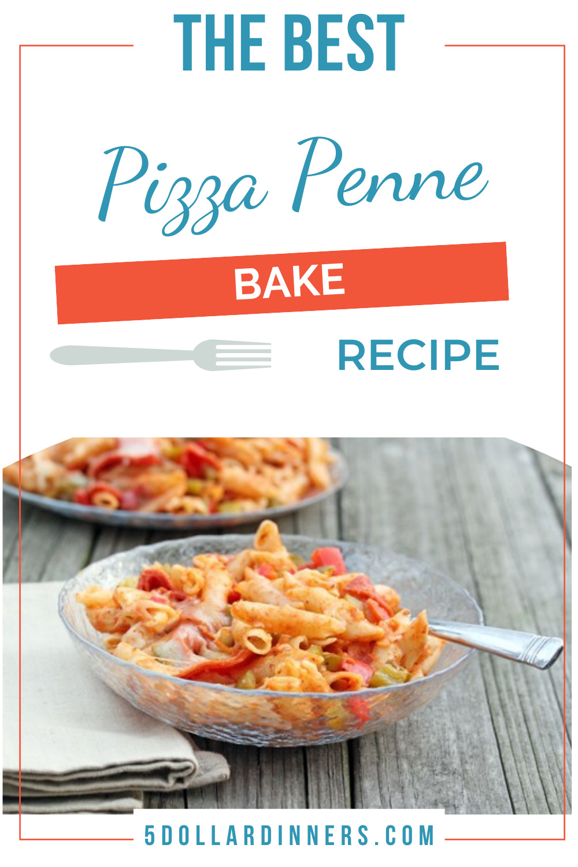 pizza penne bake