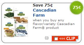 cascadian farm coupon $.75/1 Cascadian Farm   Organic Printable Coupon
