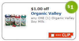 organic valley soy milk coupon Allergy Free Coupon Round Up   April