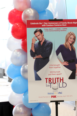 truth be told Truth Be Told Movie   And Meeting Candace Cameron (Yes, DJ from Full House!)