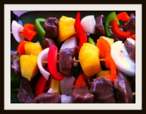 5dinnersmay2blog 300x233 Angies Beef Kabobs   Big Meals, Little Budget