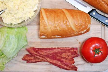 egg salad BLT Egg Salad Meets the BLT Sandwich  $5 Dinner Challenge