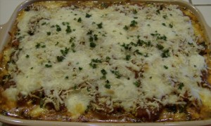 Vegetable Lasagna without pasta 640x384 300x180 Aleas Vegetable Lasagna with Spinach Noodles