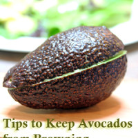 avocado browning1 200x200 How To & Cooking Tutorials
