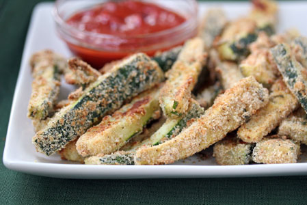 baked zucchini sticks 5 Baked Zucchini Sticks   Grow. Eat. $ave.