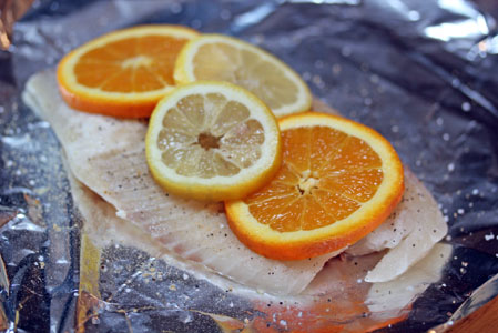 grilled citrus tilapia2 Grilled Citrus Tilapia Packets   $5 Dinner Challenge