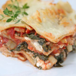 Lasagna with Kale, Zucchini and Garden Herbs – $5 Dinner Challenge