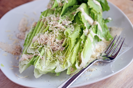 casear salad wedge Caesar Romaine Wedge Salad   Grow. Eat. $ave.