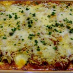 Vegetable Lasagna with Spinach Noodles   5DollarDinners.com