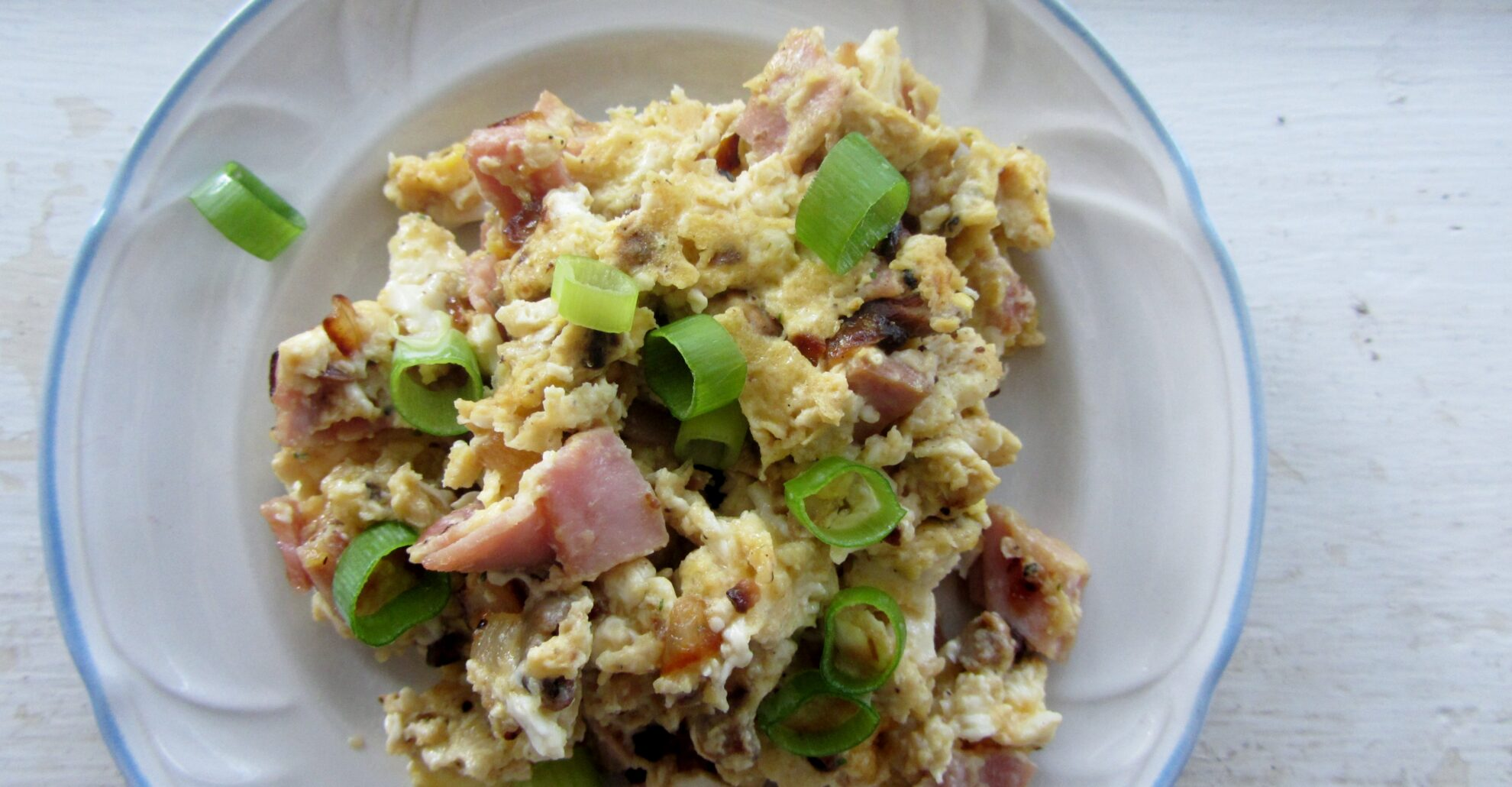 Hearty Ham Breakfast Scramble