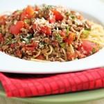 Erin's Chunky Spaghetti Sauce – $5 Dinner Challenge