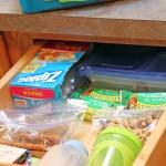 Lunch Packing Drawer – Time Saving Tip