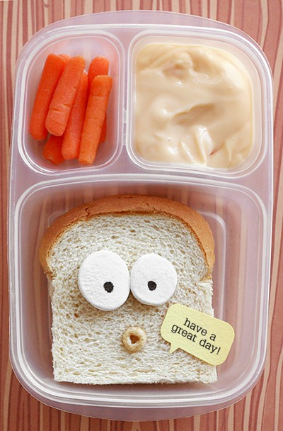 talking sandwich lunch Talking Sandwich Lunchbox