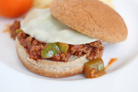 cheesesteak sloppy joes Free Weekly Meal Plan with Printable Grocery List   12/3
