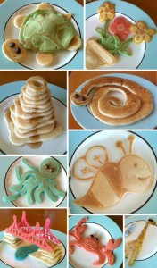 pancakes 176x300 Pancake Creations   Kids in the Kitchen