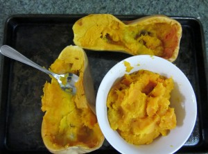 Butternut Roasted 300x222 Lindseys Savory Butternut Soup   Food Allergies on a Budget