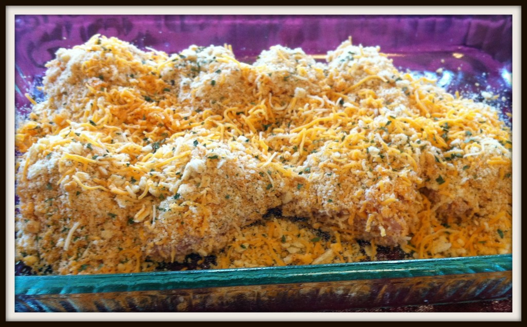 Cheesey baked Chicken1