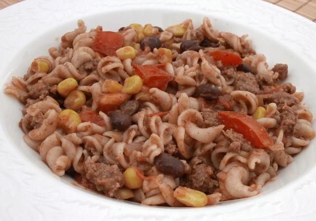 Ales's Southwest Pasta Skillet Recipe