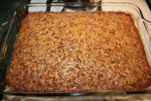 pecanbars6 300x200 Denises Pecan Pie Bars
