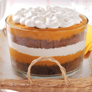 pumpkintrifle Pumpkin Gingerbread Trifle  Sweet Fall Treat