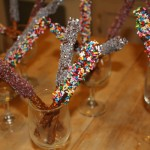 Denise's Dipped Pretzel Sticks and Gift Tags