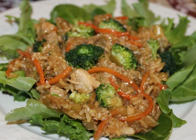 Asian Chicken Skillet | 5DollarDinners.com