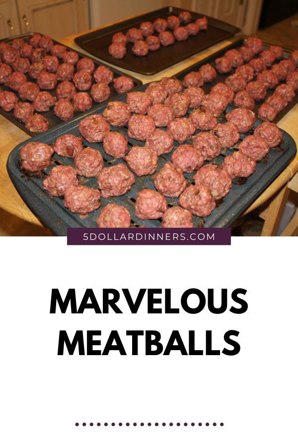 marvelous meatballs