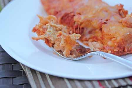 buffalo chicken blue cheese enchiladas