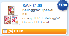kelloggs special k cereal printable coupon Kelloggs Special K Cereal + More Printable Coupons