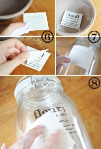 cannisters 203x300 DIY Canisters  Kitchen Inspiration
