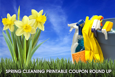 spring cleaning printable coupon round up Spring Cleaning Printable Coupon Round Up