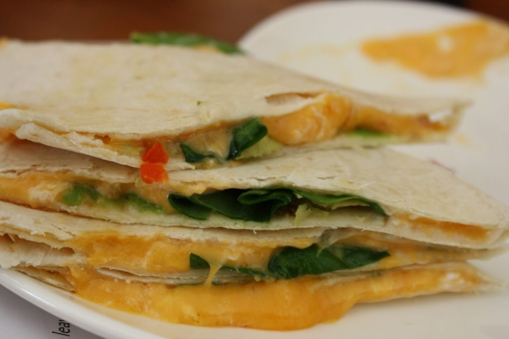 IMG 1178 1024x682 Tricias Ultimate Loaded Quesadilla