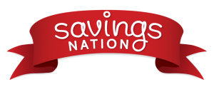 savings nation ribbon logo 300x122 #SavingsNation Twitter Party   TOMORROW Night, Great Prizes!