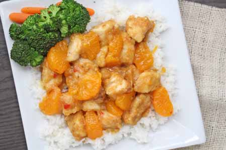spciy orange chicken 9 Spicy Mandarin Orange Chicken