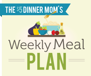 weeklymealplan Weekly Meal Plan with Printable Grocery List   4/23